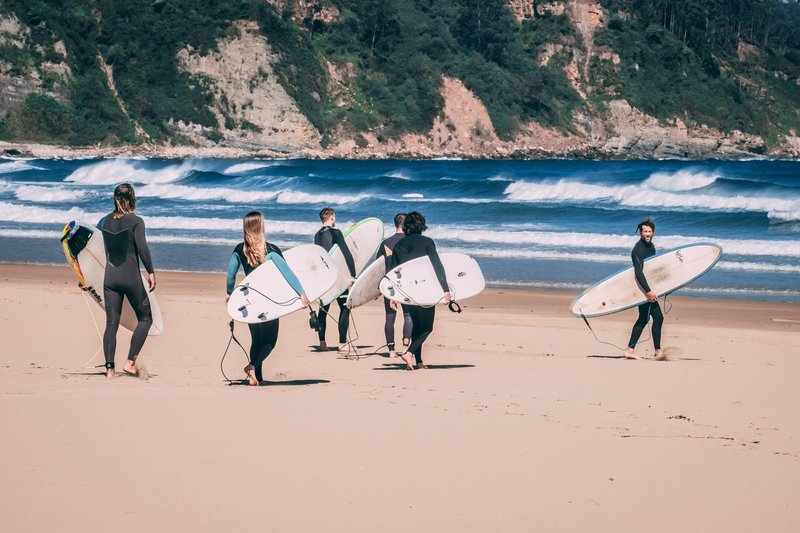 surfcamp Španělsko
