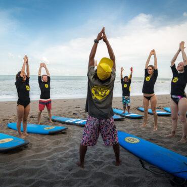 Surfkemp na Bali