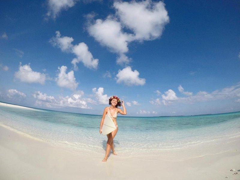 surf Maledivy
