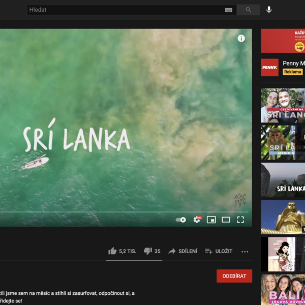 A cup of style vlog surf dovolená Sri Lanka