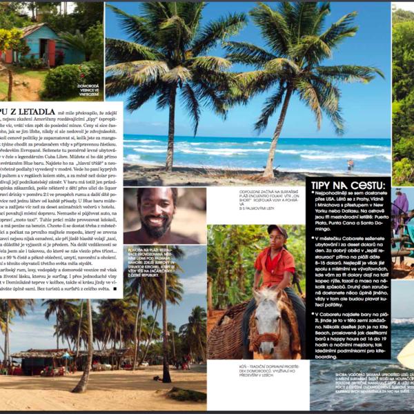 Karibik dominikána surfkemp