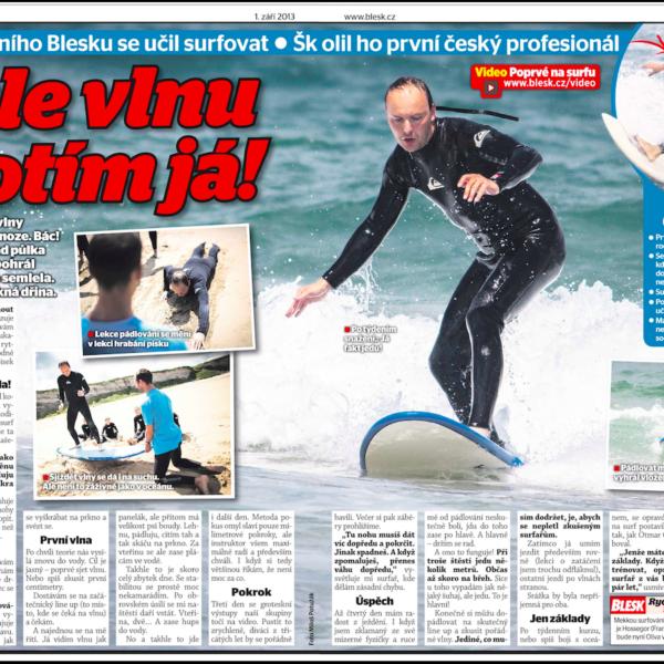 surf instruktor otmar oliva blesk článek