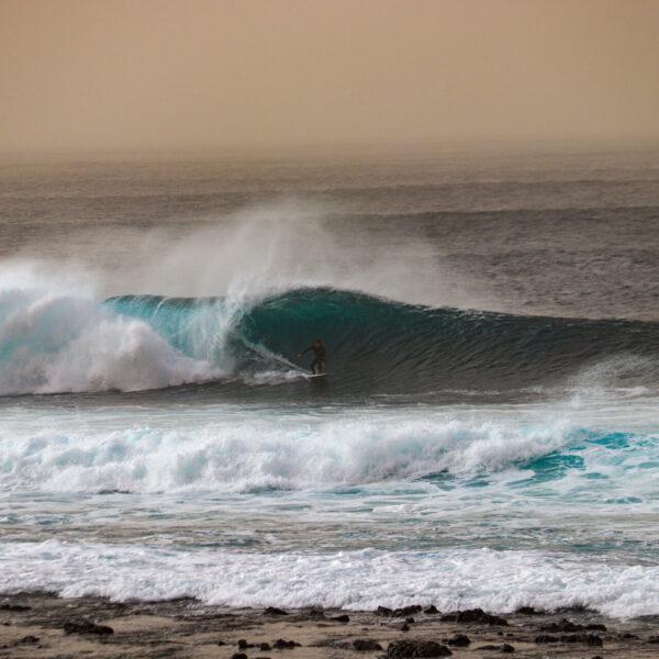 Surfování Lanzarote březen